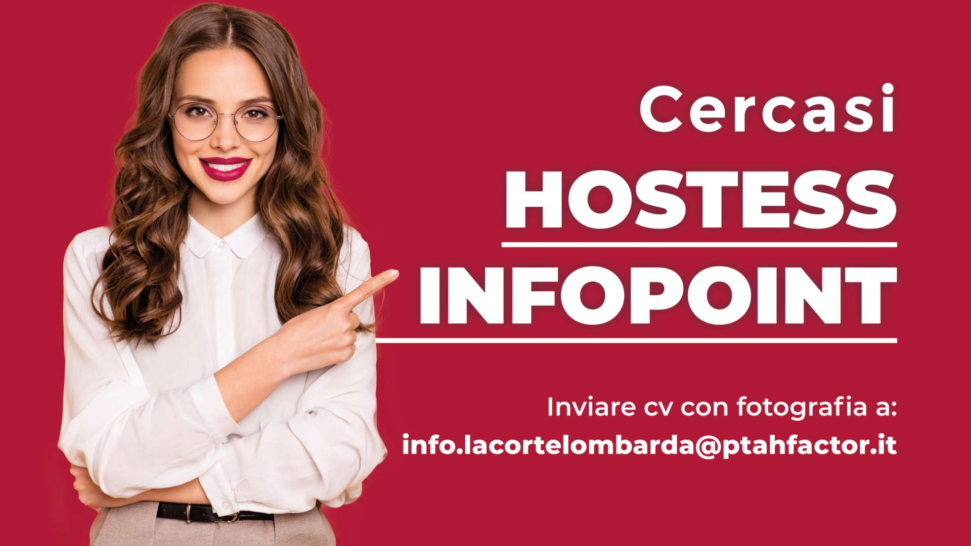 Cercasi Hostess Infopoint