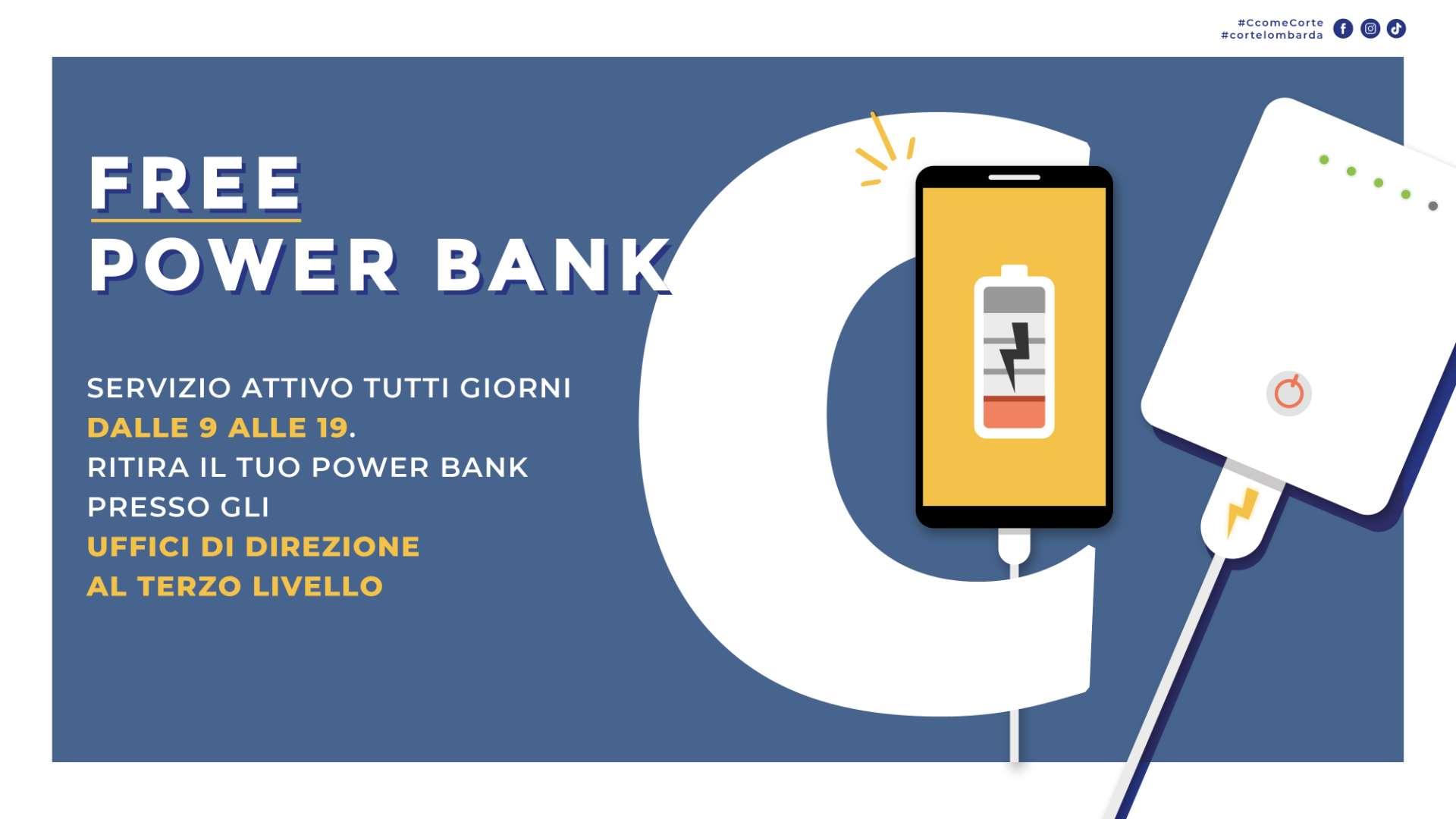 servizio Power Bank