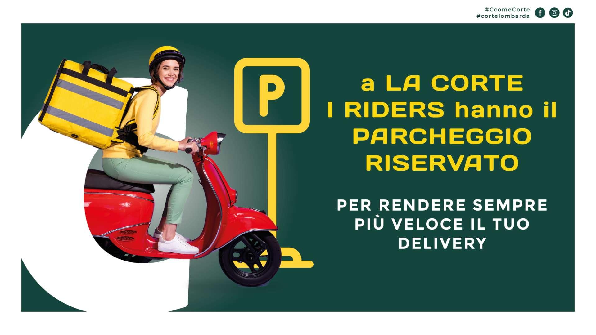 Parcheggio riservato servizio Delivery